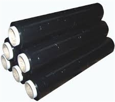 Black Shrink Wrap 400mm x 200m 17mu