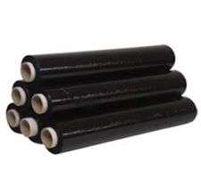 Black Shrink Wrap 500mm x 250m 25mu
