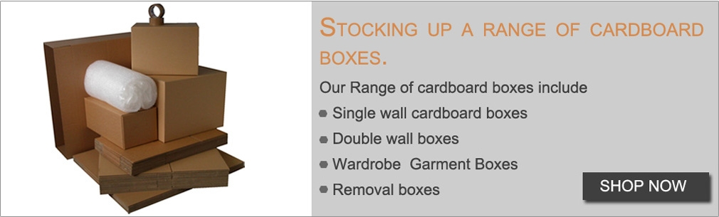 Range of Cardboard Boxes - MS Packaging