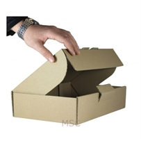 10 x Max Size RM Small Parcel Boxes ( 449x349x79mm )