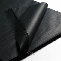 Black Acid Free Tissue Paper 500mm x 750mm (100 Per Pack)