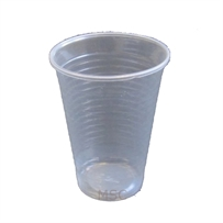 100 x Clear Disposable Plastic Cups Glasses 7oz (190ml)