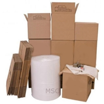 House Moving Removal Kit No 6 (105 Cardboard Boxes + Materials)