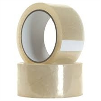 Clear Packing Tapes 48mm x 50M( 6 Rolls Per Pack)